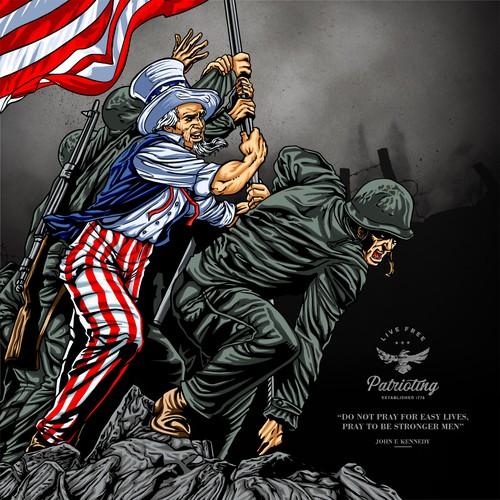 Patrioting - Iwo Jima