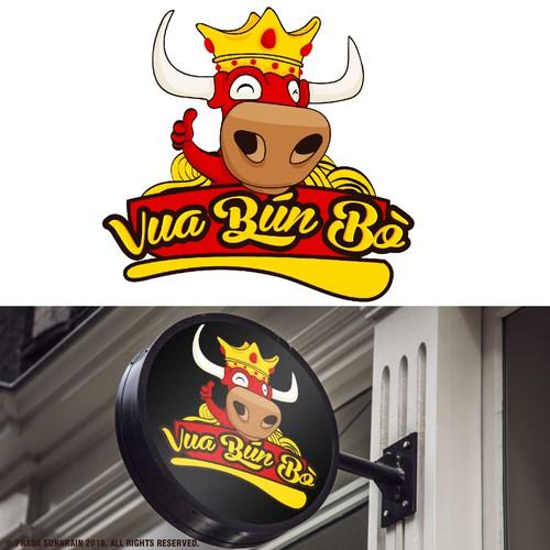 Vua Bun Bo Logo