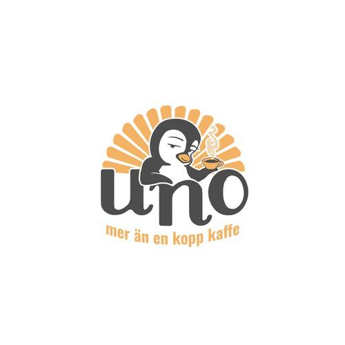 Logo design concept for a coffee company