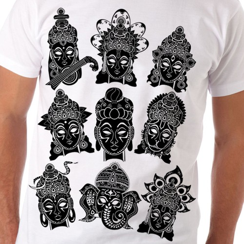 Hindu Gods T-shirt