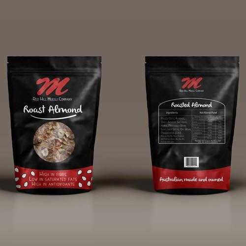 Packaging proposal for Roast Almond Muesli