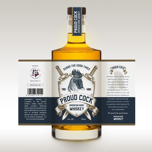 Proud Cock Whiskey