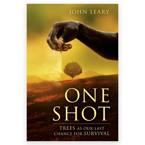 """Book cover for """"One Shot"""""""