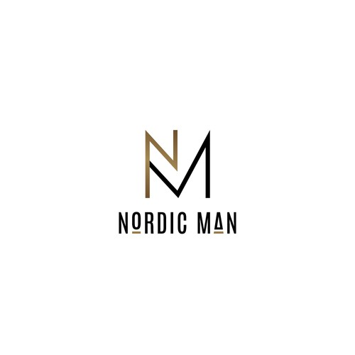 Simple and clean design for Nordic Man