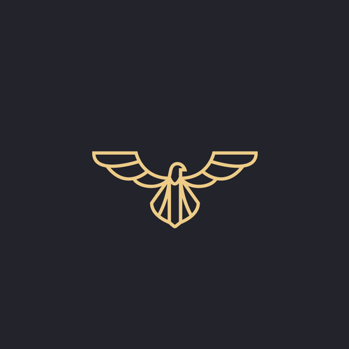 Unique eagle logo design