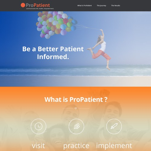 web pages for medical company