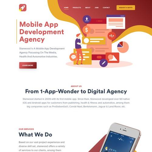 Mobile Apps development website design