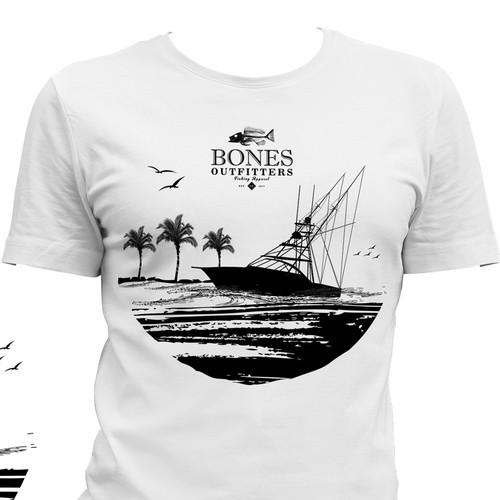 Fishing T-Shirt Design Wanted! 02