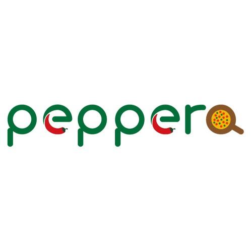 Logo for pizzeria.