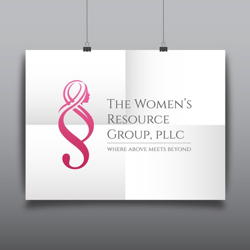 logo for law firm specializing in women's rights v4