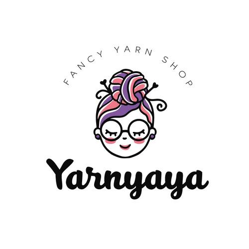 Logo for yarn shop