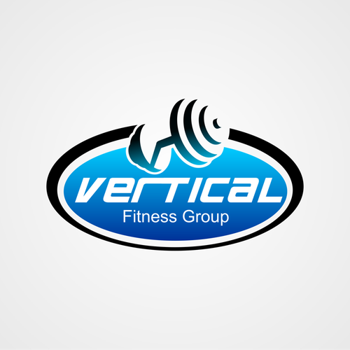 Vertical new logo design.
