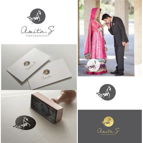 Create a Captivating Fusion of Indo-American styles for a logo for my Wedding photography business