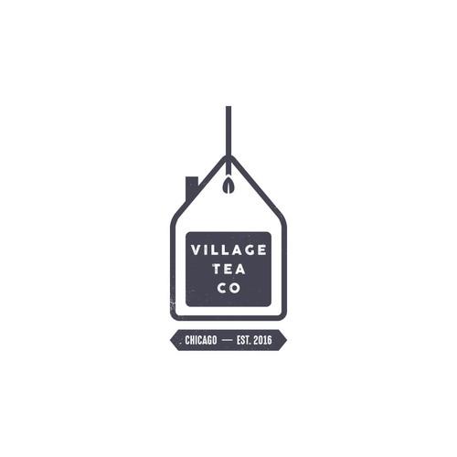 Logo design for Village Tea Co