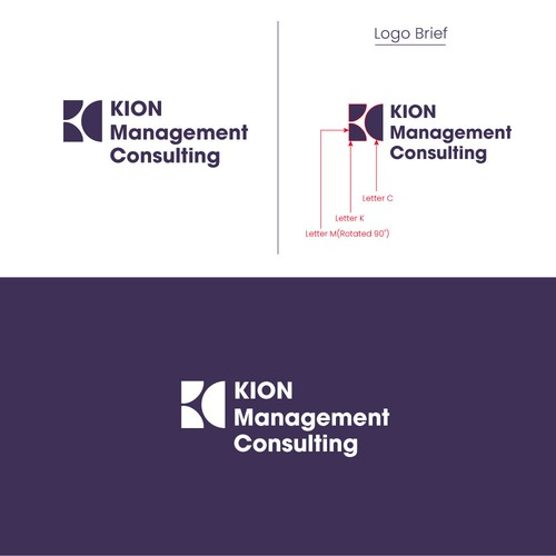 Logo concept for a Management Consulting company