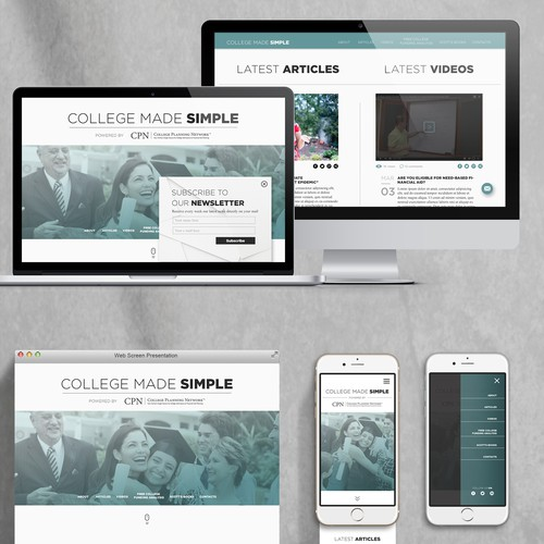 Blog like Website Design to help parents send their children to college