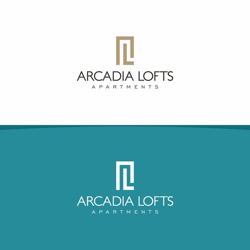 Simple abstract logo for apartments