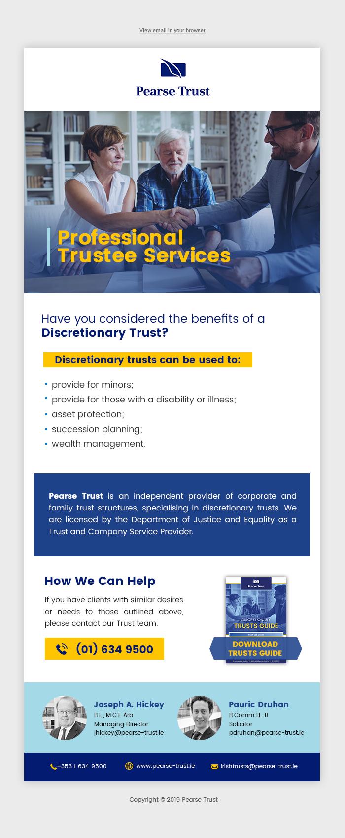 IDT Trust Email - Refresh Design