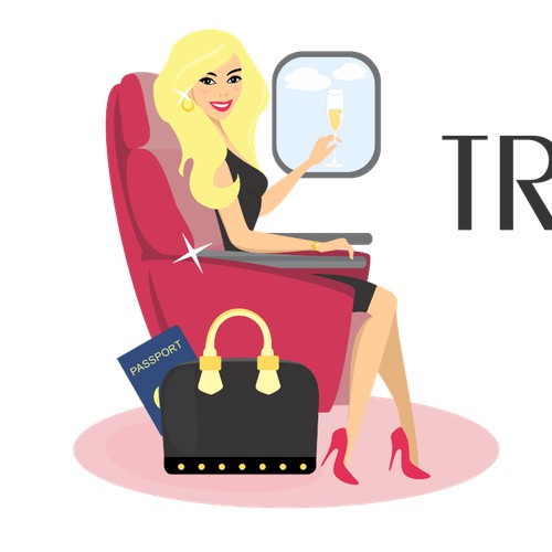 Travel Like A Diva - Fun Luxury Travel Logo