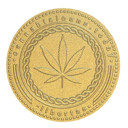 Coin logo concept