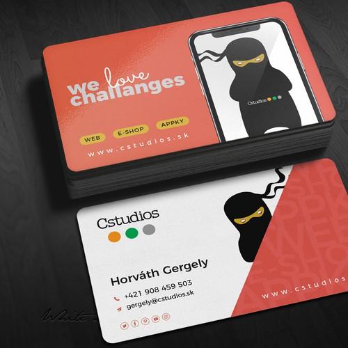 cstudio business card