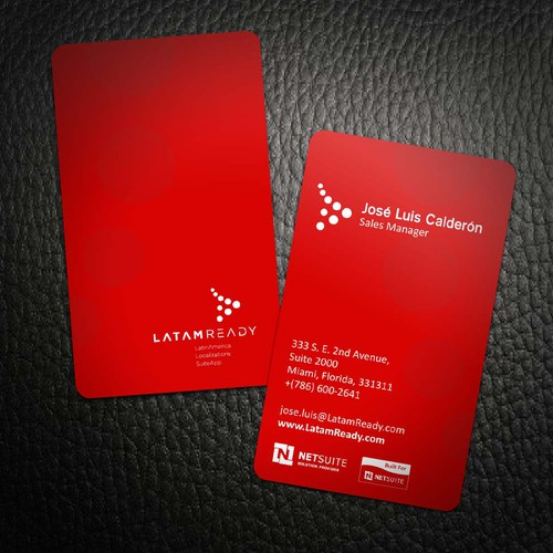 A new Business card for LatamReady