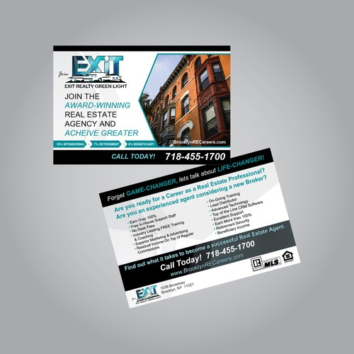 Exit Realty Green Light Potcard