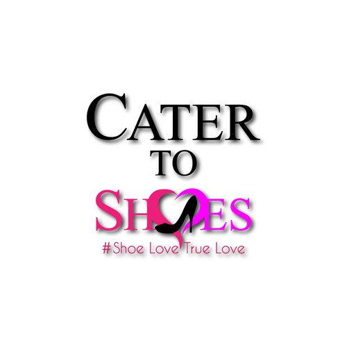 Feminine logo for womens shoes to internet