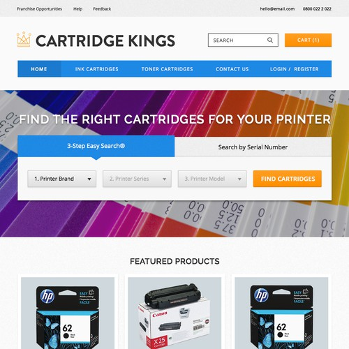 Cartridge Kings Web Store