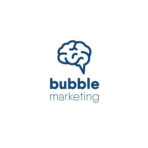 Logo concept for digital marketing agency