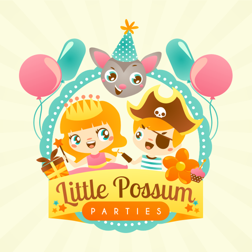 Little Possum Parties needs a new logo