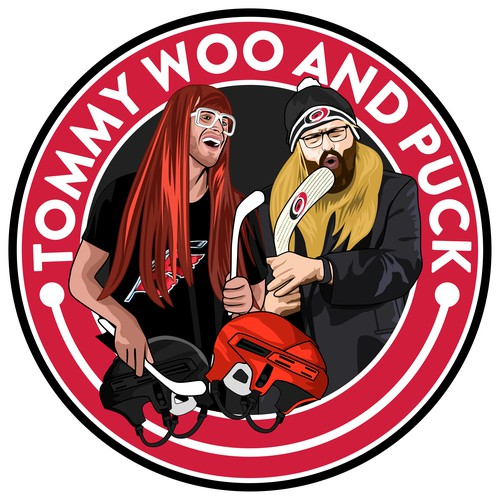 Tommy Woo and Puck Logo