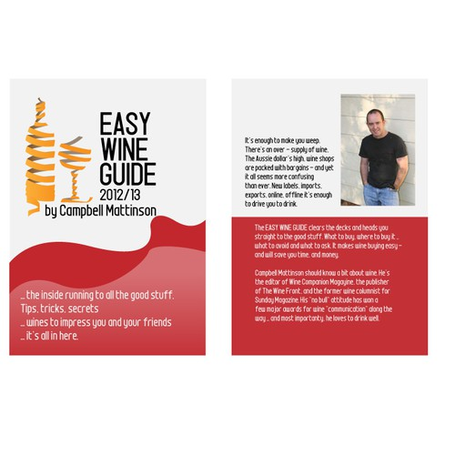 Help Easy Wine Guide with a new Book Cover!