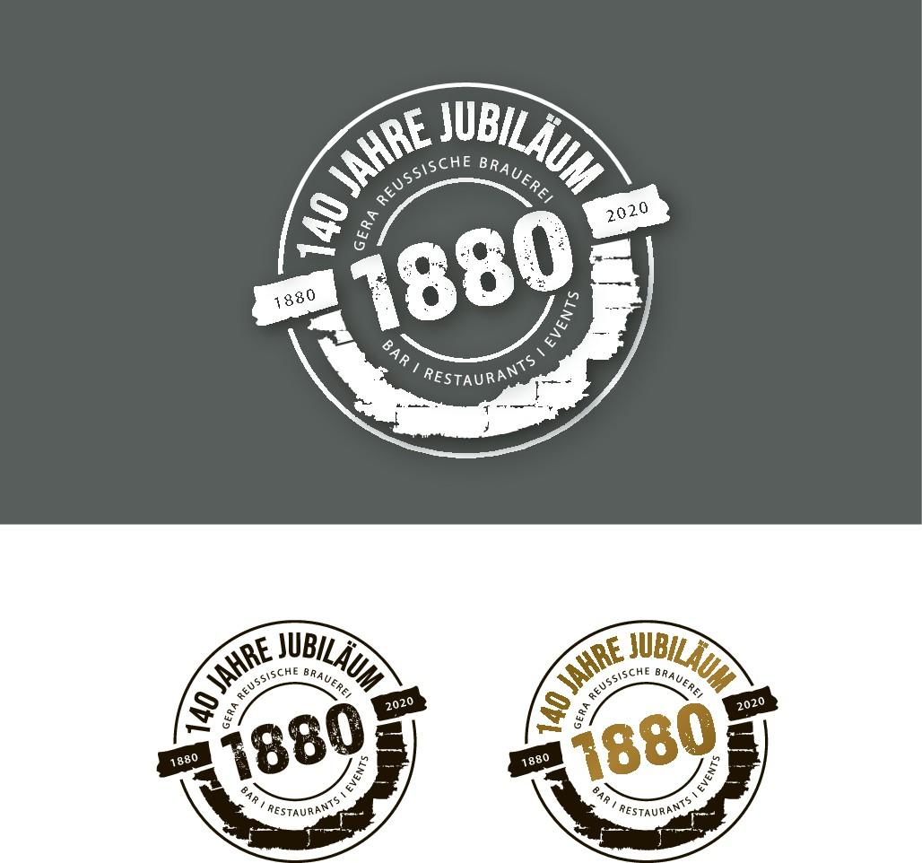 140 Jahre Jubiläum, Logo zu überarbeiten