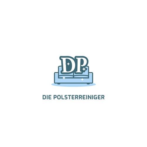 DP sofa cleaner service logo