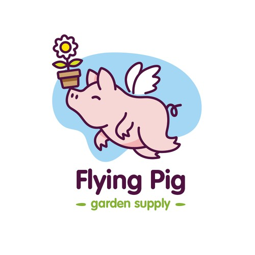 Flying Pig garden supply
