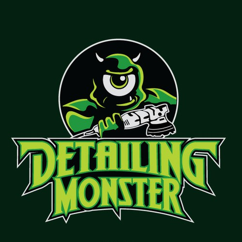 logo for detailing shop