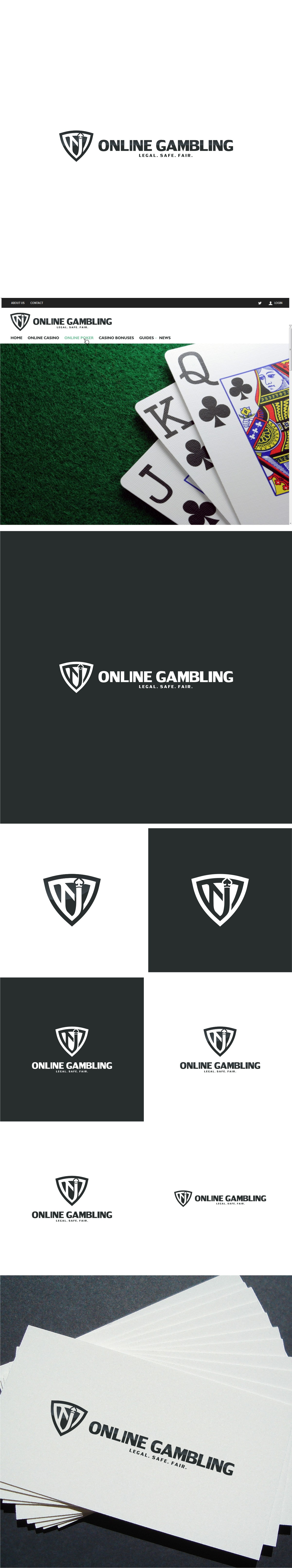 Design a logo for New Jersey online gambling site