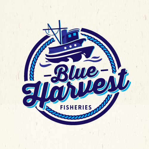 Create a logo for a sustainable seafood shellfish company