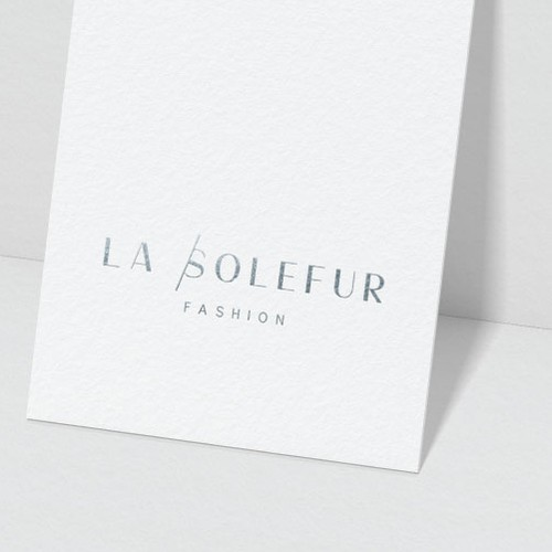 Sophisticated Logo For A Fashion Line