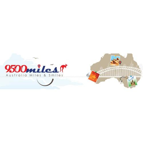 New header and logotype for Australian travel site