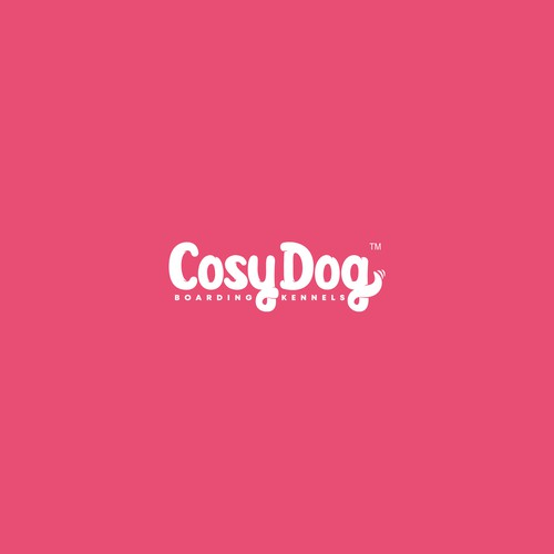 "Custom letters logo for ""Cosy Dog"""