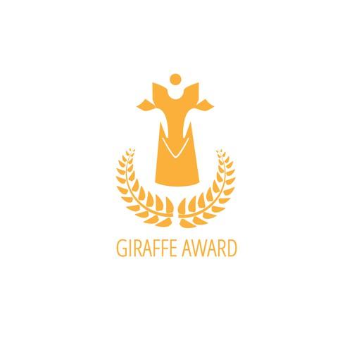 Giraffe Award Icon Concept