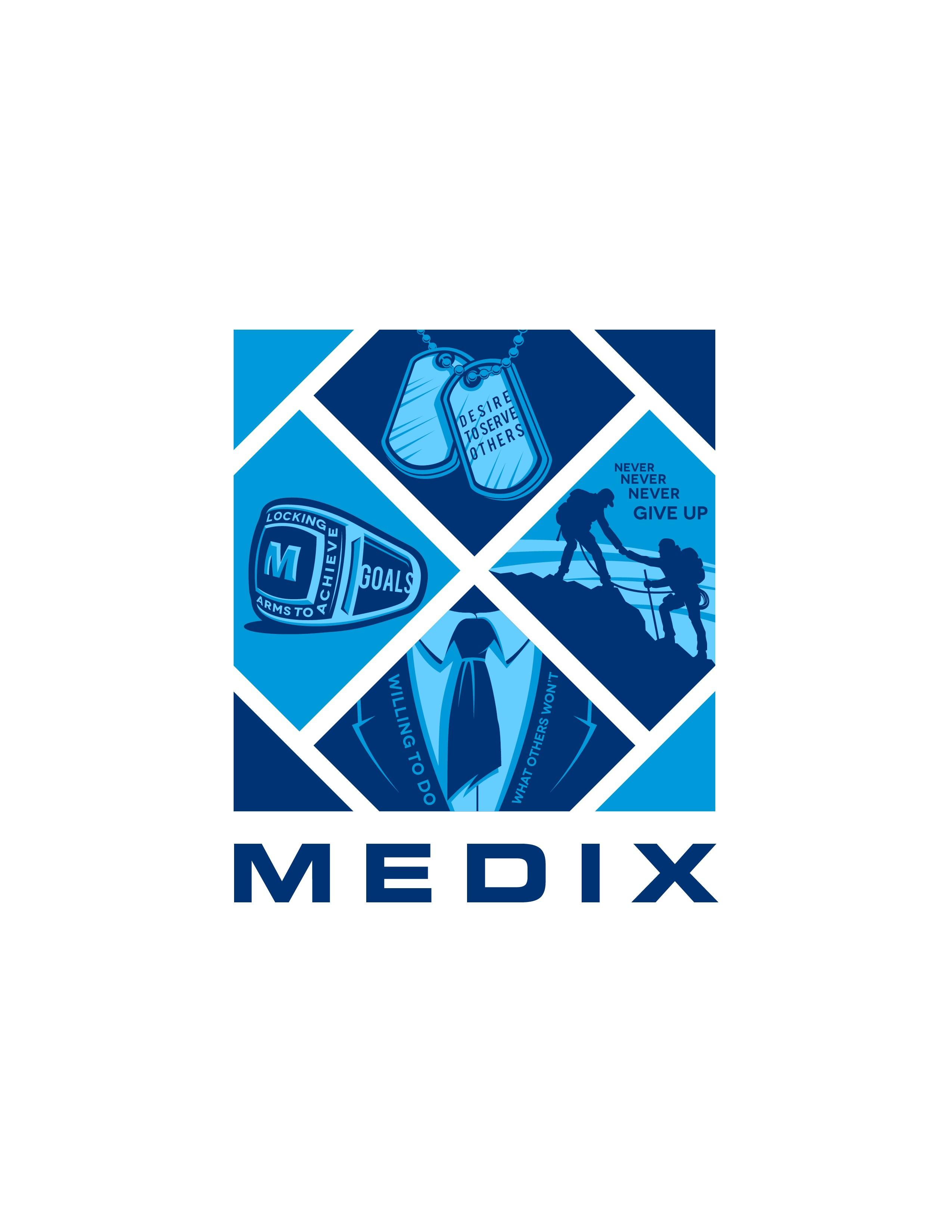 Create a Large Core Values Logo for Medix!