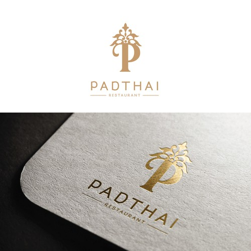 Logo design for PAD THAI restaurant