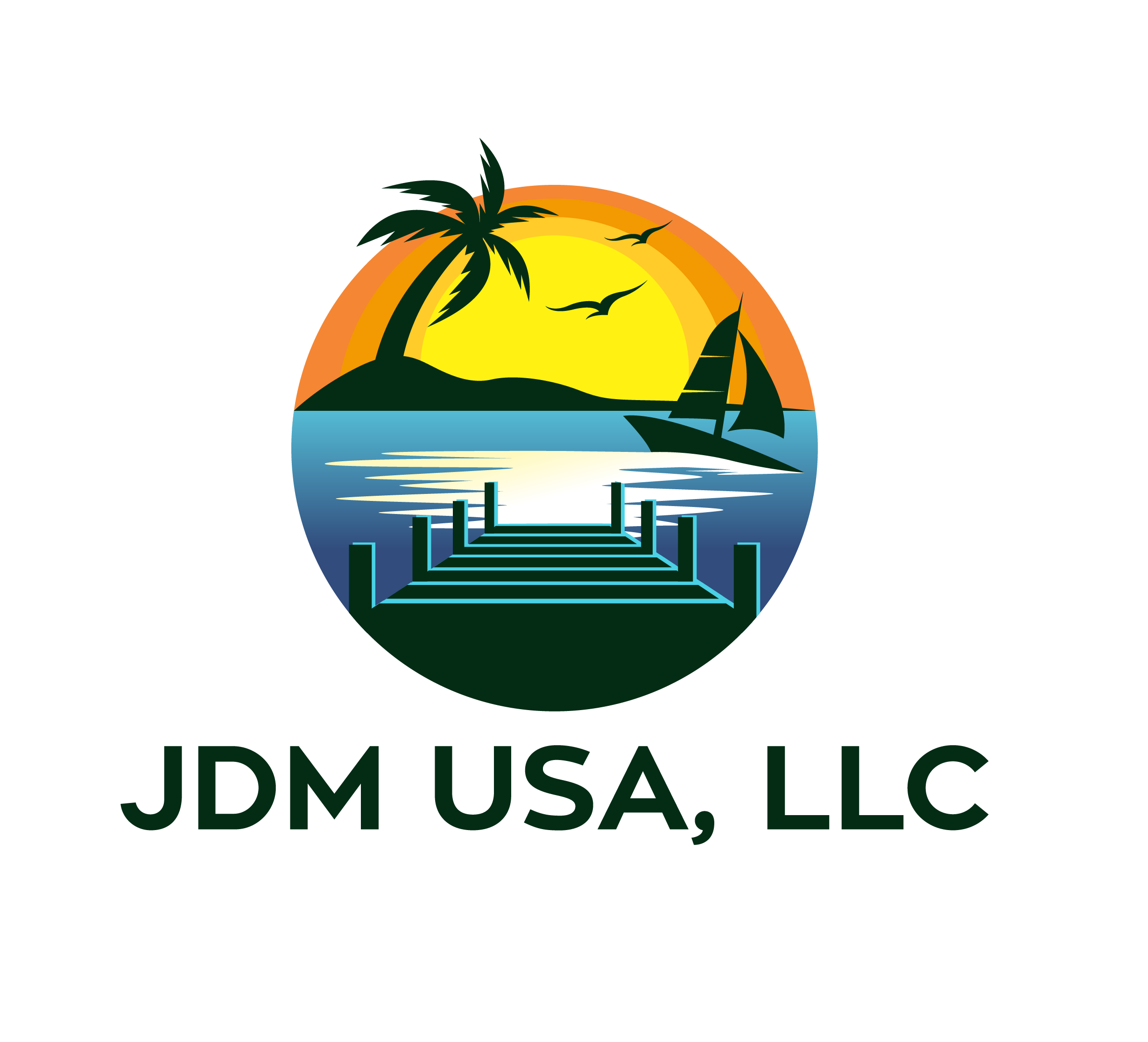 We need a logo for a Sales and Consulting company: Boat Dock, Marine and Construction business.
