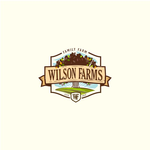 Logo design for Wilson farms