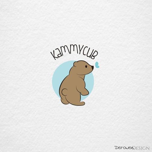 Cute bear logo.
