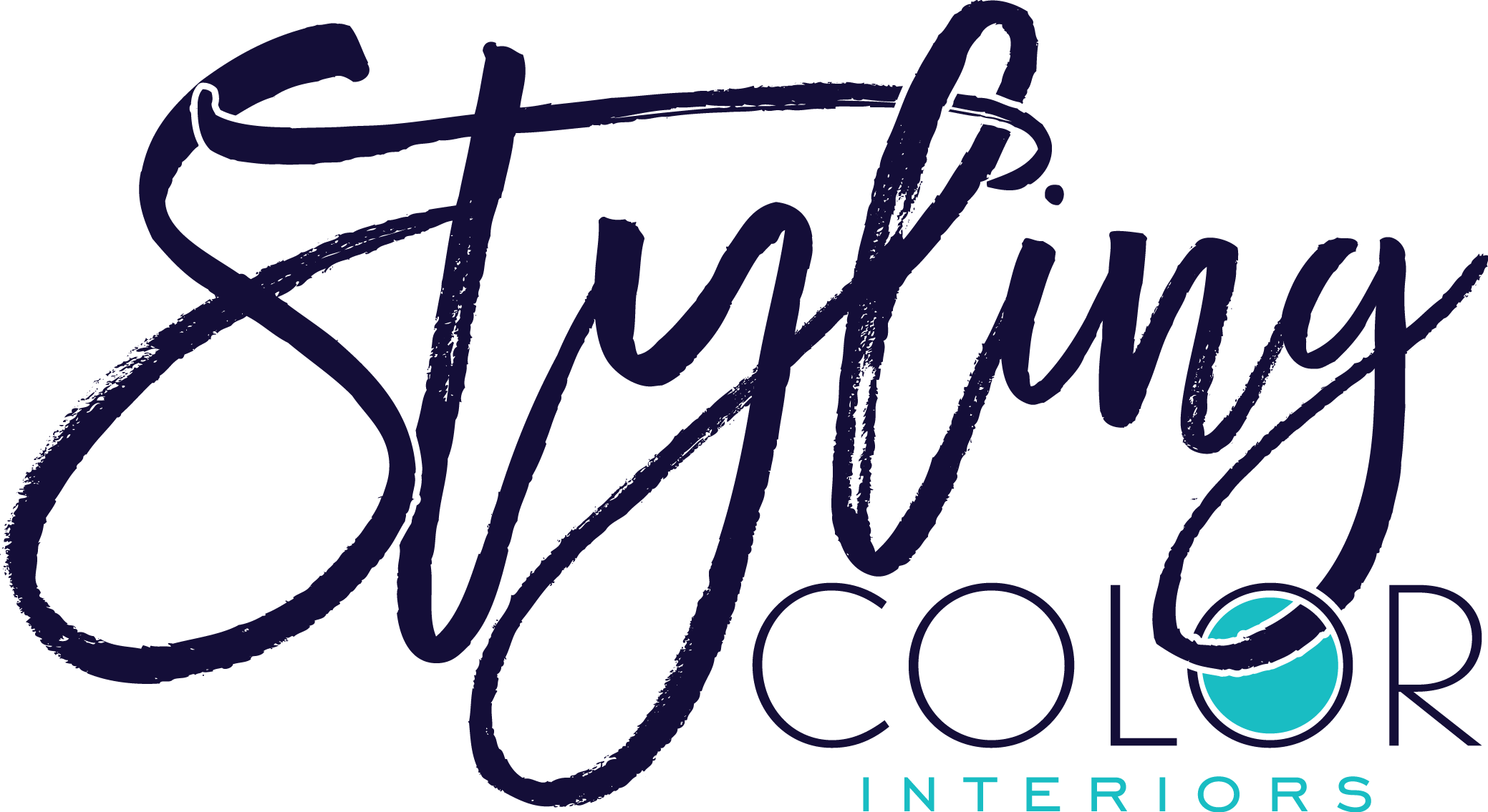 Create a classic modern logo with a flair for a color consulting interior design business