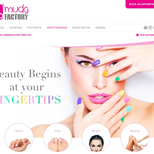 Website For Cosmetics Company